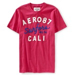 Aeropostale Mens Surfers Cali Graphic T-Shirt