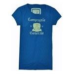 Aeropostale Womens Campagnie Graphic T-Shirt