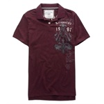 Aeropostale Mens 1987 Rugby Polo Shirt