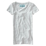 Aeropostale Womens Sequined Pocket Graphic T-Shirt