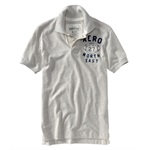 Aeropostale Mens Football Rugby Polo Shirt