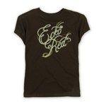 Ecko Unltd. Womens Sequins Er Graphic T-Shirt