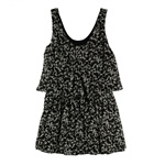 Rachel Roy Womens Lights Down Tiered Dress