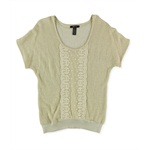 Style&co. Womens Lace Pullover Sweater
