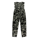 Rachel Roy Womens Floral Strapless Jumpsuit