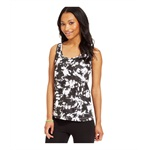 Material Girl Womens Printed Tie Dye Tank Top