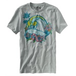Aeropostale Mens Watercolor Graphic T-Shirt