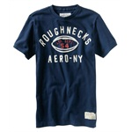 Aeropostale Mens Ath. Dept. 54 Football Graphic T-Shirt