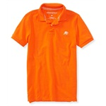 Aeropostale Mens A87 Uniform Rugby Polo Shirt