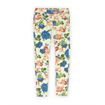 Dollhouse Womens Floral Pattern Skinny Fit Jeans