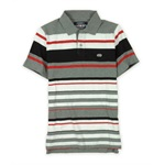 Ecko Unltd. Mens Liberty Bell Striped Rugby Polo Shirt