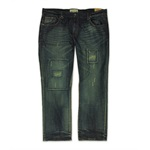 Ecko Unltd. Mens Fit Exchange Wash Straight Leg Jeans