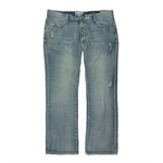 Ecko Unltd. Mens Core Crystal Wash Boot Cut Jeans