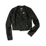 Ecko Unltd. Womens P/u Quilted Jkt Motorcycle Jacket
