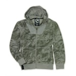Ecko Unltd. Mens Upcoming Graphic Hooded Windbreaker Jacket