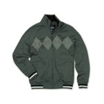 Ecko Unltd. Mens Argyle Full Zip Track Jacket
