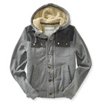 Aeropostale Mens Fleece Lined Field Jacket