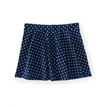 Aeropostale Womens Polka Dot Above Knee Flared Skirt