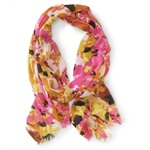 Aeropostale Womens Bright Abstract Scarf