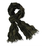 Threads & Heirs Womens Plaid Fringe Scarf