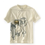 Aeropostale Boys Ogre Lunch Graphic T-Shirt