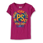 Aeropostale Girls PS Athl. Dept. Graphic T-Shirt