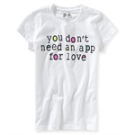 Aeropostale Girls Don't Need An App Graphic T-Shirt