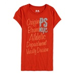 Aeropostale Girls Glitter NYC Graphic T-Shirt