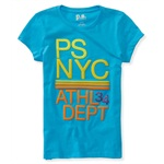 Aeropostale Girls NYC Athl Dept 34 Graphic T-Shirt