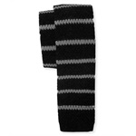 Aeropostale Mens Striped Knit Necktie