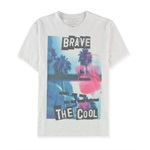 Calvin Klein Mens Brave The Cool Graphic T-Shirt