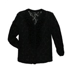 Style&co. Womens Lace Ruffle Button Down Blouse