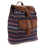 Aeropostale Womens Southwest Stripe Everyday Backpack