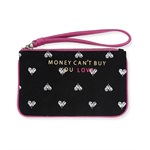 Aeropostale Womens Money Love Makeup Bag