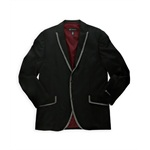 I-N-C Mens Shimmer Tux Two Button Blazer Jacket