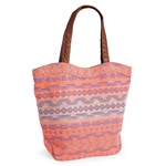 Aeropostale Womens Southwest Tote Handbag Purse