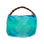 Aeropostale Womens Braided Paisley Tote Handbag Purse