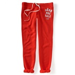 Aeropostale Womens Heritage Cinch Casual Sweatpants