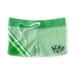 Aeropostale Womens Aero Ny 87 Stripe Athletic Sweat Shorts