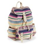 Aeropostale Womens Beachy Stripes Everyday Backpack