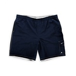 Nike Mens Solid Swim Bottom Board Shorts