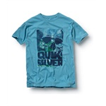 Quiksilver Mens Happy Holiday Slim Graphic T-Shirt