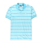 Chaps Mens Striped Logo Rugby Polo Shirt