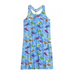 Justice Girls Photoreal Fish Cover-Up Swimsuit