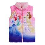 Disney Girls Character Puffer Jacket