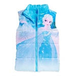 Disney Girls Elsa Puffer Vest