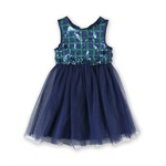 Disorderly Kids Girls Sequin Skater Tank Dress
