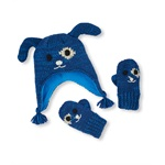 The Children's Place Boys Dog Hat And Mitten Beanie Hat