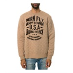 Born Fly Mens The Bambi Crewneck Sweatshirt