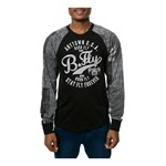Born Fly Mens The Casablanca Raglan Embellished T-Shirt